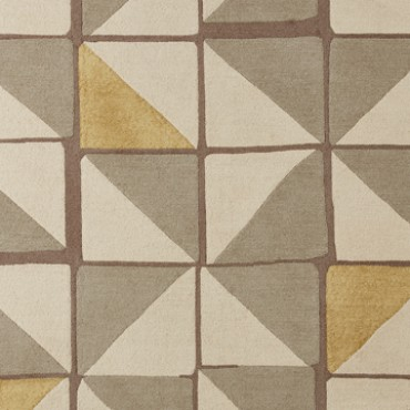 Bild: Teppich Modern Geo 7606